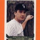 1993 Topps Gold Baseball #771 Kevin Ritz - Colorado Rockies