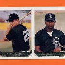1993 Topps Gold Baseball #746 Mark Strittmatter / Lamarr Rogers RC - Colorado Rockies