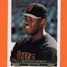 1993 Topps Gold Baseball #653 Steve Hosey - San Francisco Giants
