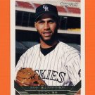 1993 Topps Gold Baseball #634 Mo Sanford - Colorado Rockies