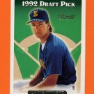 1993 Topps Gold Baseball #632 Chris Widger RC - Seattle Mariners