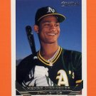 1993 Topps Gold Baseball #602 Henry Mercedes - Oakland A's