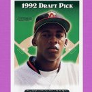 1993 Topps Gold Baseball #574 DeShawn Warren RC - California Angels