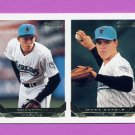 1993 Topps Gold Baseball #558 Ryan Whitman RC / Mark Skeels - Florida Marlins