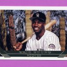 1993 Topps Gold Baseball #551 Eric Young - Colorado Rockies