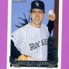 1993 Topps Gold Baseball #541 Denis Boucher - Colorado Rockies