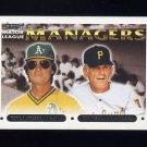 1993 Topps Gold Baseball #511 Tony LaRussa MG / Jim Leyland MG