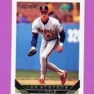 1993 Topps Gold Baseball #467 Lee Stevens - California Angels