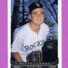 1993 Topps Gold Baseball #463 Scott Aldred - Colorado Rockies