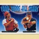 1993 Topps Gold Baseball #408 Darren Daulton / Brian Harper AS