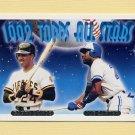 1993 Topps Gold Baseball #407 Barry Bonds / Joe Carter AS