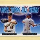 1993 Topps Gold Baseball #405 Andy Van Slyke / Ken Griffey Jr. AS