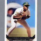1993 Topps Gold Baseball #383 Jerry Browne - Oakland A's