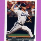 1993 Topps Gold Baseball #130 Jeff Montgomery - Kansas City Royals