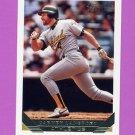 1993 Topps Gold Baseball #127 Carney Lansford - Oakland A's