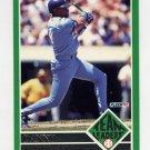 1992 Fleer Baseball Team Leaders #18 Danny Tartabull - Kansas City Royals