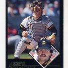 1992 Fleer Baseball All-Stars #05 Mike LaValliere - Pittsburgh Pirates