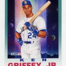 1992 Fleer Baseball #709 Ken Griffey Jr. PV - Seattle Mariners
