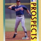 1992 Fleer Baseball #666 Vinny Castilla RC - Atlanta Braves