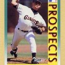 1992 Fleer Baseball #665 Gil Heredia RC - San Francisco Giants