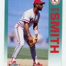 1992 Fleer Baseball #592 Ozzie Smith - St. Louis Cardinals