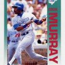 1992 Fleer Baseball #466 Eddie Murray - Los Angeles Dodgers