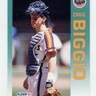 1992 Fleer Baseball #426 Craig Biggio - Houston Astros