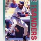 1992 Fleer Baseball #368 Deion Sanders - Atlanta Braves