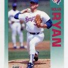 1992 Fleer Baseball #320 Nolan Ryan - Texas Rangers