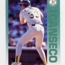 1992 Fleer Baseball #252 Jose Canseco - Oakland A's