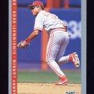 1993 Fleer Baseball #394 Barry Larkin - Cincinnati Reds