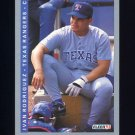 1993 Fleer Baseball #327 Ivan Rodriguez - Texas Rangers