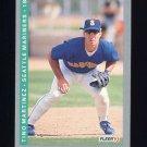 1993 Fleer Baseball #310 Tino Martinez - Seattle Mariners