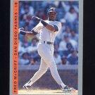 1993 Fleer Baseball #143 Fred McGriff - San Diego Padres