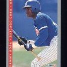 1993 Fleer Baseball #027 Sammy Sosa - Chicago Cubs