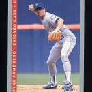 1993 Fleer Baseball #025 Ryne Sandberg - Chicago Cubs