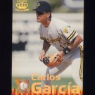1995 Pacific Baseball Latinos Destacados #14 Carlos Garcia - Pittsburgh Pirates