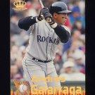 1995 Pacific Baseball Latinos Destacados #13 Andres Galarraga - Colorado Rockies
