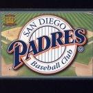 1995 Pacific Prisms Baseball Team Logo #27 San Diego Padres