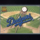 1995 Pacific Prisms Baseball Team Logo #21 Los Angeles Dodgers