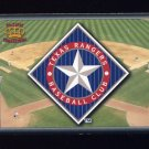 1995 Pacific Prisms Baseball Team Logo #13 Texas Rangers
