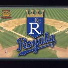 1995 Pacific Prisms Baseball Team Logo #07 Kansas City Royals