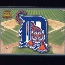 1995 Pacific Prisms Baseball Team Logo #06 Detroit Tigers