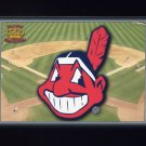 1995 Pacific Prisms Baseball Team Logo #05 Cleveland Indians