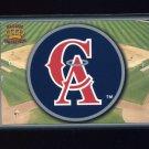 1995 Pacific Prisms Baseball Team Logo #03 California Angels