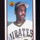 1989 Bowman Baseball #426 Barry Bonds - Pittsburgh Pirates