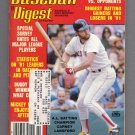 Baseball Digest February 1982 with Carney Lansford of the Boston Red Sox on the Cover