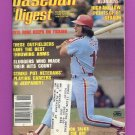 Baseball Digest November 1981 with Pete Rose of the Philadelphia Phillies on the Cover