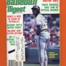 Baseball Digest September 1982 with Rickey Henderson of the Oakland A's on the Cover