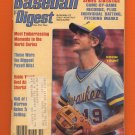 Baseball Digest October 1982 with Robin Yount of the Milwaukee Brewers on the Cover